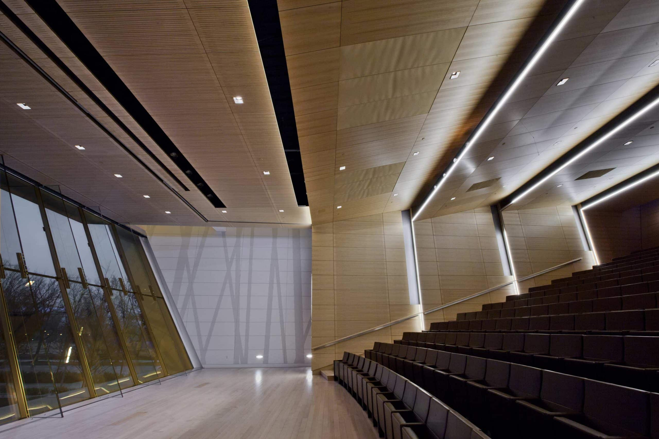 Topakustik usa acoustical wood products and systems for Interior design schools in oklahoma